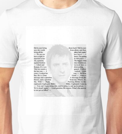 Doctor Who - Quotes from Rory Williams Unisex T-Shirt