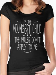 The rules don't apply to me Shirt Women's Fitted Scoop T-Shirt
