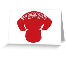 San Diego State - Aztecs Spirit Jersey Greeting Card