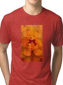 Teddy Friends Tri-blend T-Shirt
