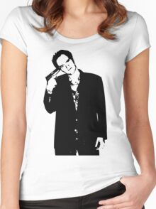 Quentin Tarantino Women's Fitted Scoop T-Shirt