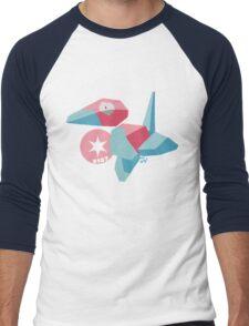 Porygon Men's Baseball ¾ T-Shirt