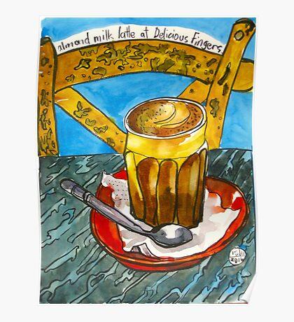 Almond latte #2 Poster