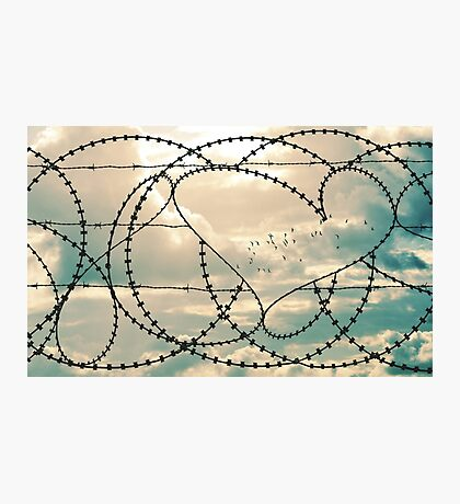 Hope, peace and love Photographic Print