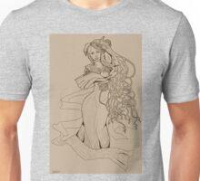 Art Nouveau Lady Unisex T-Shirt