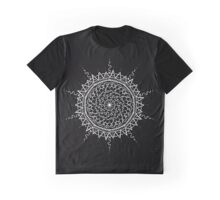 Black Mandala Graphic T-Shirt
