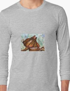 Australian Frilled Neck Lizard  Long Sleeve T-Shirt