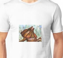 Australian Frilled Neck Lizard  Unisex T-Shirt