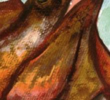 Australian Frilled Neck Lizard  Sticker
