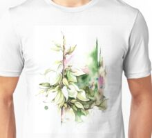 """Trying on Wedding Dress"" from the series ""Blossoming Planet"" Unisex T-Shirt"