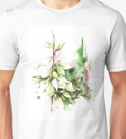 """""""Trying on Wedding Dress"""" from the series """"Blossoming Planet"""" Unisex T-Shirt"""