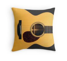 Acoustic Guitar for Player Musician Singer Songwriter Throw Pillow