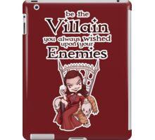Be the Villain iPad Case/Skin