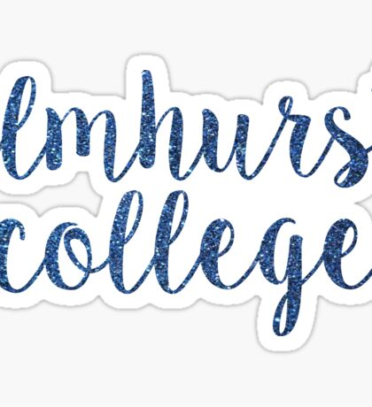 Elmhurst College Sticker