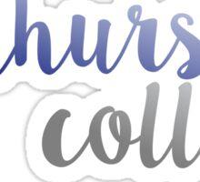 Elmhurst College Sticker