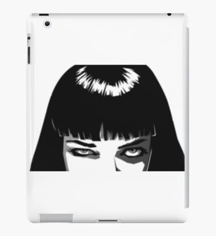 Pulp Fiction - Mia Wallace 2 iPad Case/Skin