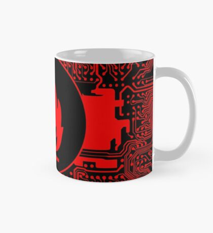 Cybergoth - Flammable (red) Mug