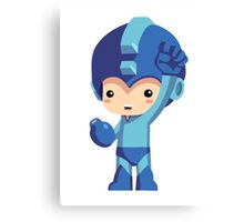 Mega Man! Canvas Print