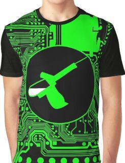 Cybergoth - Syringe (green) Graphic T-Shirt