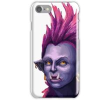 Orc Warrior Woman iPhone Case/Skin