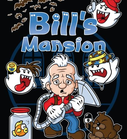 Bill's Mansion (STICKER) Sticker