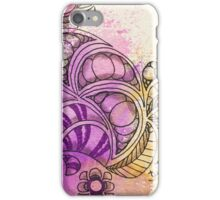 Tangle Art Pattern Love Colored I iPhone Case/Skin
