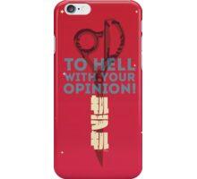 Kill la Kill - Scissor Blade Smackdown iPhone Case/Skin