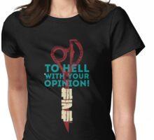 Kill la Kill - Scissor Blade Smackdown Womens Fitted T-Shirt