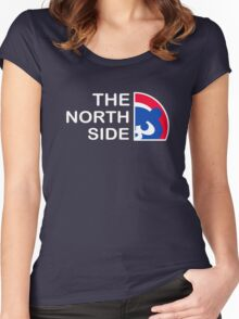 Chicago Cubs The North Side Women's Fitted Scoop T-Shirt