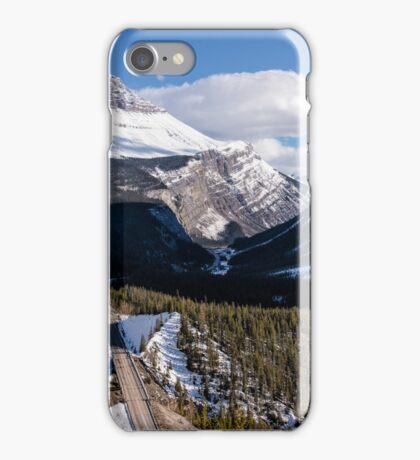 Sunwapta Sprinkled with Snow iPhone Case/Skin