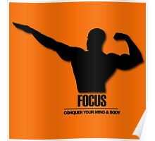 Focus Conquer your Mind and Body v2 Poster