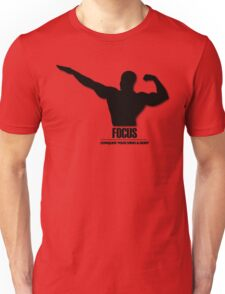 Focus Conquer your Mind and Body v2 Unisex T-Shirt