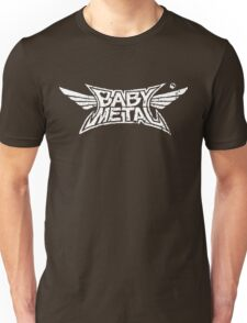 Babymetal - Logo en blanco Unisex T-Shirt