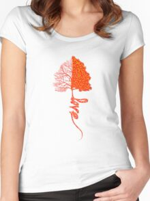 Love Tree3 Women's Fitted Scoop T-Shirt