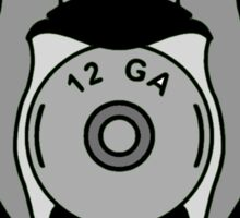 Mallard Down Logo Green Sticker