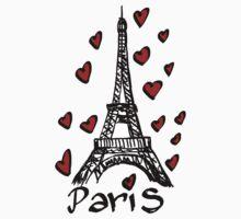 Eiffel Tower,Paris Baby Tee