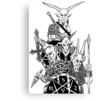 The Infernal Army  Canvas Print