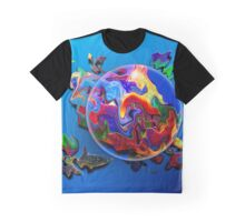 Color Eye Graphic T-Shirt