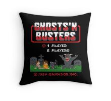 Ghosts 'N Busters Throw Pillow