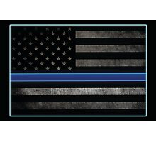 Honor the Blue Photographic Print