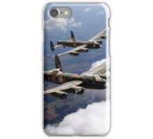 Two Lancasters on tour iPhone Case/Skin