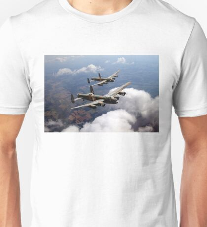 Two Lancasters on tour Unisex T-Shirt