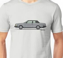Volvo 262c Bertone Coupe 200 Series Silver Unisex T-Shirt