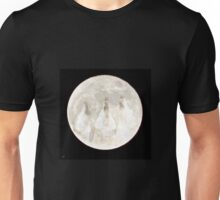 Faces on the Frost Moon Unisex T-Shirt