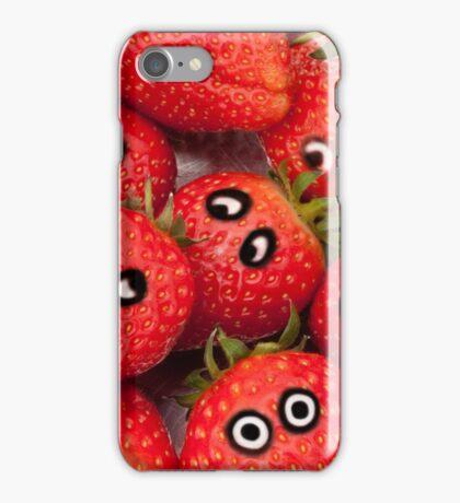 Strawberry fun. iPhone Case/Skin