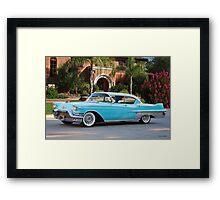 1957 Cadillac Fleetwood 60 S Sedan Framed Print