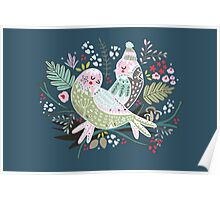 Holiday Birds Love II Poster