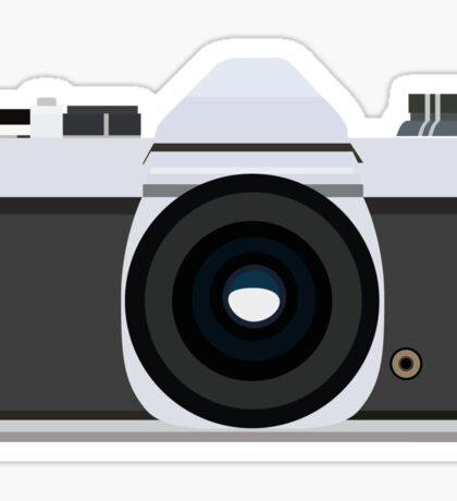 Analog Pentax Camera Sticker