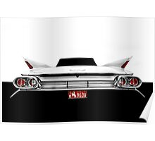 1961 Cadillac Sreies 62 - High Contrast Poster