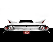 1961 Cadillac Sreies 62 - High Contrast Photographic Print